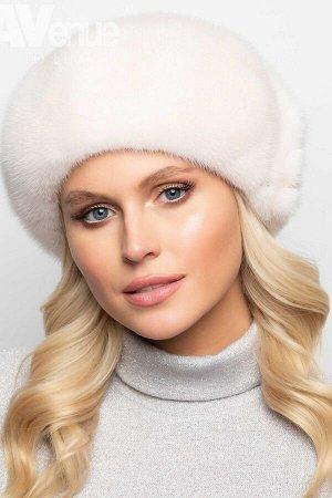 Шапка Размер 56-58  Базовый зимний женский норковый берет. Такая зимняя шапка идеально подойдёт женщинам со средним и крупным лицом. Благодаря классической форме этот зимний головной убор будет идеаль