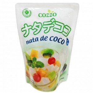 Кокосовое желе в сиропе nata de coco cozzo, малайзия, 290 мл