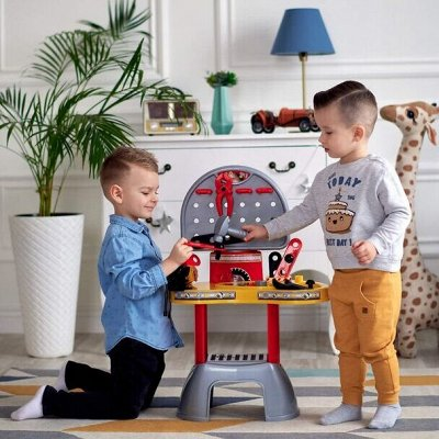 Полесье. Любимые игрушки. Наличие — Юный механик. Верстаки, инструменты — Детям и подросткам