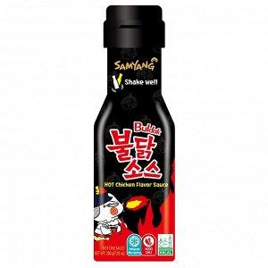 Соус Samyang со вкусом курицы, острый (Hot Chicken Flavour Sauce), 200 г