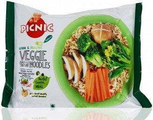 Лапша б/п Пикник со вкусом овощей 70 г. 1/30 (пакет)