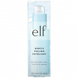 E.L.F., Gentle Peeling Exfoliant, 3.04 fl oz (90 ml)