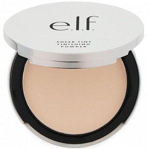 """E.L.F., """"Прекрасно-естественная"""", Чистый оттенок, финишная пудра, светлый, 0,33 унции (9,4 г)"""