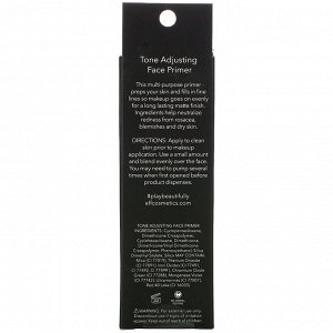 E.L.F., Tone Adjusting Face Primer, Neutralizing Green, 0.47 oz (14 g)