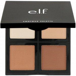 E.L.F., палетка для контурирования, 4 оттенка, 16 г (0,56 унции)
