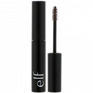 E.L.F., Wow Brow Gel, гель для бровей, темно-коричневый, 3,5 г (0,12 унции)