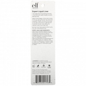 E.L.F., Expert Liquid Liner, Midnight, 0.15 fl oz (4.5 ml)