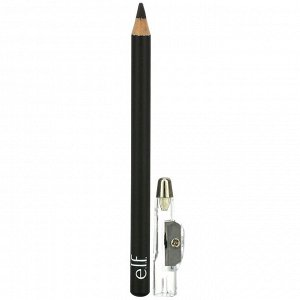 E.L.F., Satin Eyeliner Pencil, Black, 0.03 oz (0.85 g)