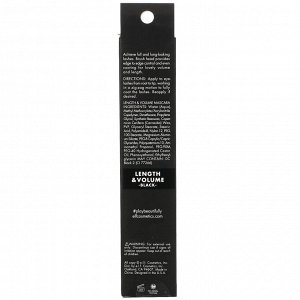 E.L.F., Length & Volume Mascara, Black, 0.25 fl oz (7.5 ml)