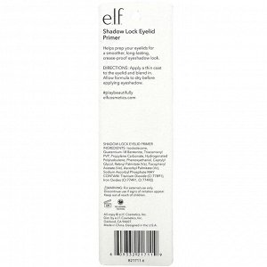 E.L.F., Shadow Lock Eyelid Primer, Sheer, 0.11 fl oz (3.1 ml)