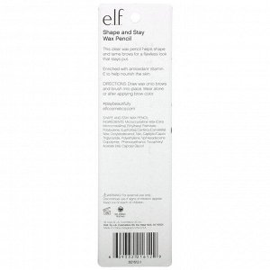 E.L.F., Shape and Stay Wax Pencil, Clear, 0.04 oz (1.4 g)