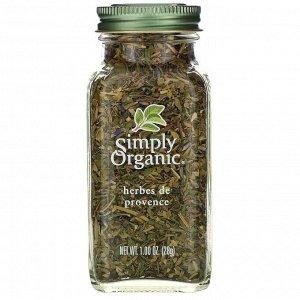 Simply Organic, Прованские травы, 28 г (1,00 унция)