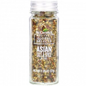 McCormick Gourmet Global Selects, Asian Salt & Spice Blend, 2.04 oz (57 g)