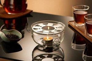 WILMAX Thermo Glass Подставка для подогрева 15х8,5см WL-888903A