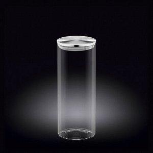 WILMAX Thermo Glass Емкость для продуктов со стальной крышкой 1600мл WL?888518/A