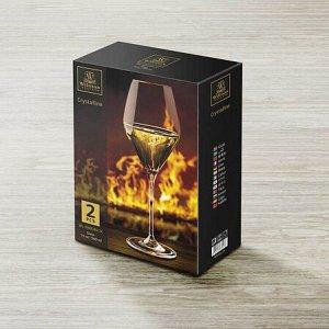 WILMAX Crystalline Набор бокалов для вина 2шт, 560мл, в п.у. WL?888046/2C