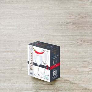 WILMAX JV Набор рюмок для водки, ликера 2шт, 65мл, в п.у. WL-888111-JV/2C