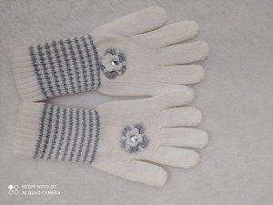 Перчатки на весну, на 6-7-8 лет, реал фото