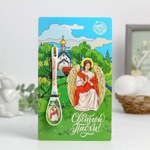 Ложка сувенирная «Ангел»  2,5 х 13 см