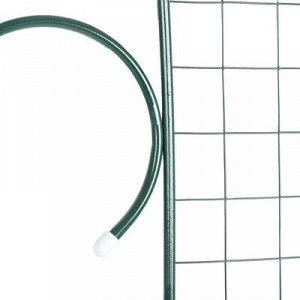 Шпалера, 210 ? 50 ? 1 см, металл, зелёная, «Узорная»