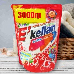 Стиральный порошок Ekella Ultra, 3 кг