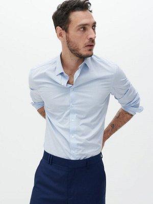 Рубашка slim fit из органического хлопка