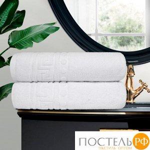 Набор из 2-х полотенец Cezar 70х130 см, 430 г/м2 белый
