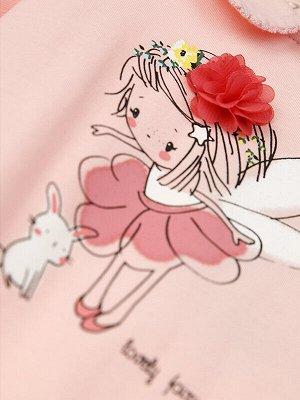 Боди Состав: 95% хлопок, 5% эластан  Сезон: Весна, Лето  Цвет: светло-розовый  Год: 2021 *Боди для девочки с длинным рукавом *высокое содержание хлопка 95% *благодаря наличию эластана в составе тка