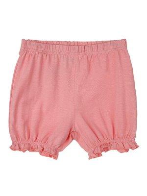 Комплект Состав: 95% хлопок, 5% эластан  Сезон: Весна, Лето  Цвет: светло-розовый, белый  Год: 2021 *Комплект: футболка, шорты *из качественного эластичного и приятного на ощупь трикотажа джерси *в