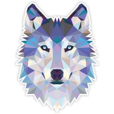 Огромный выбор классных наклеек для интерьера и авто — Волки