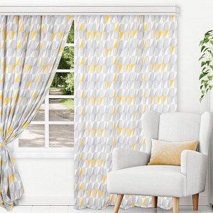 Комплект штор для гостиной, кухни Сканди 180x270 см, 787-2013/1