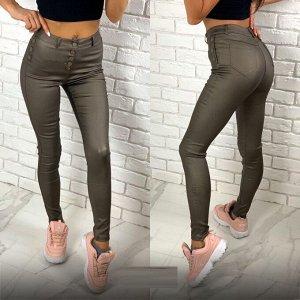 Матовые джинсы с пропиткой