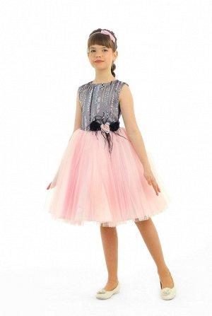 Платье Количество в упаковке: 1; Артикул: СС-1616; Цвет: Розовый; Состав: 100% полиэстер; Цвет: Розовый Скачать таблицу размеров                                                 Основа платья идет из