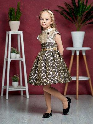 Платье Количество в упаковке: 1; Артикул: СС-1504; Цвет: Коричневый; Состав: 100% полиэстер; Цвет: Коричневый Скачать таблицу размеров                                                 Нарядное платье