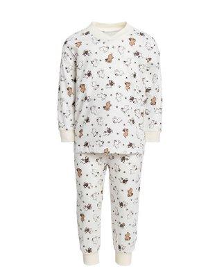 Пижама унисекс V-образный вырез