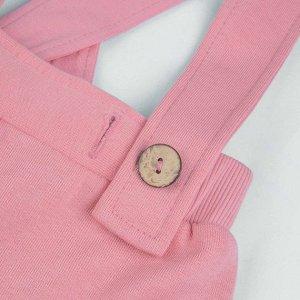 Брюки Количество в упаковке: 1; Артикул: BN-499З20-462; Цвет: Розовый; Ткань: Футер с начесом; Состав: 100% Хлопок; Цвет: Розовый Скачать таблицу размеров