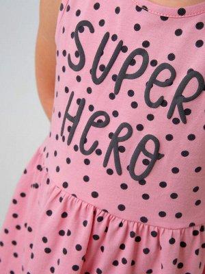 Набор для девочки (платье+футболка)