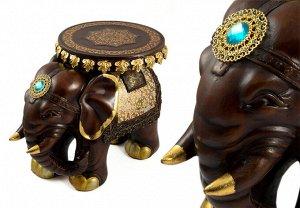 Статуэтка-подставка Слон (46х26х30 см)