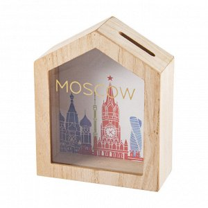 Копилка Москва (16х7х20 см)