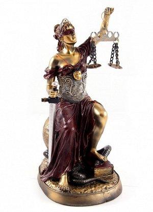 Статуэтка Греческая богиня правосудия - Фемида (27 см)