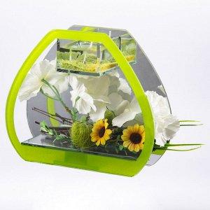 Композиция цветочная Колокольчики (5х15х13 см)