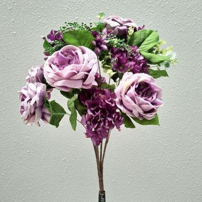 Искусственные Цветы на Пасху 2 мая Родительский День 11 мая — Букеты размер от 20 см до 34 см (5-7 голов) — Искусственные растения