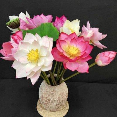 Искусственные Цветы на Пасху 2 мая Родительский День 11 мая — Букеты размер от 37 см до 45 см (5-11 голов) — Искусственные растения