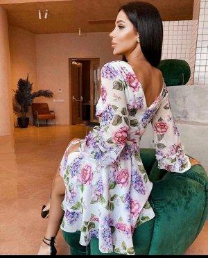 Платье Принт может незначительно отличаться от фото