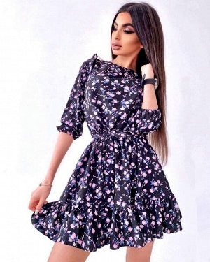Платье Ткань прадо Принт может незначительно отличаться от фото