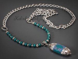 Шапочки-концевики в этническом стиле, р-р 20х14x12мм, отв-е 16х9мм и 2.5мм, ювелирный сплав, цвет винтажное серебро.