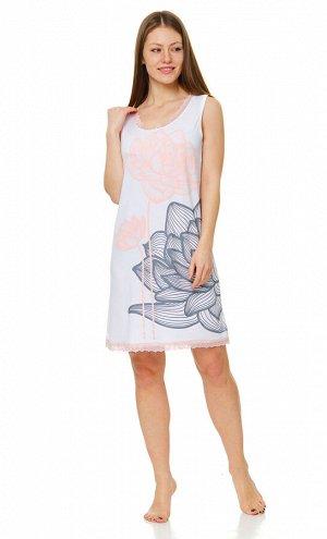 Сорочка Материал: вискозный трикотаж Состав: 92% вискоза 8% эластан