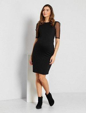 Платье для беременных из трикотажа милано