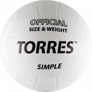 """Мяч волейбольный """"TORRES Simple"""""""