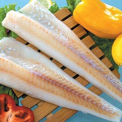 Отличная рыбка - камбала, наважка, филе минтая — Минтай Камбала Навага — Свежие и замороженные